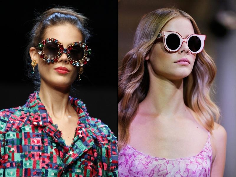 какие солнцезащитные очки в моде 2016 женские