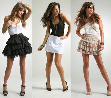 юбки модные тенденции, юбка