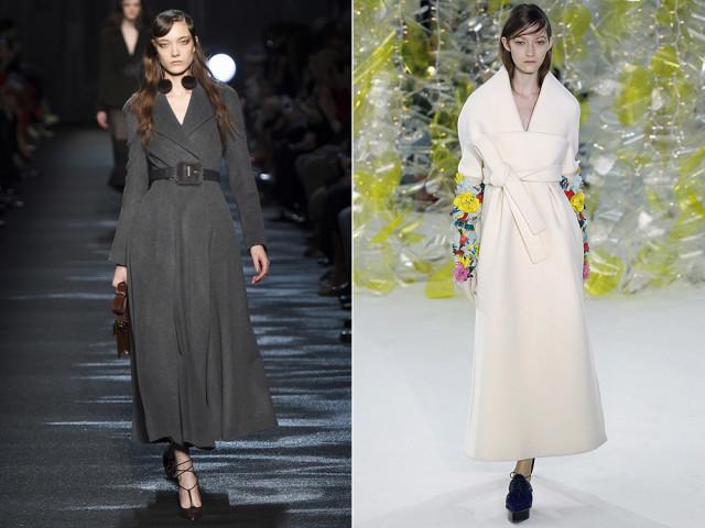 модное пальто 2016 цвета стили фасоны