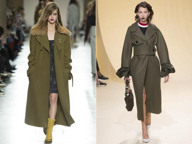 модные пальто зимой