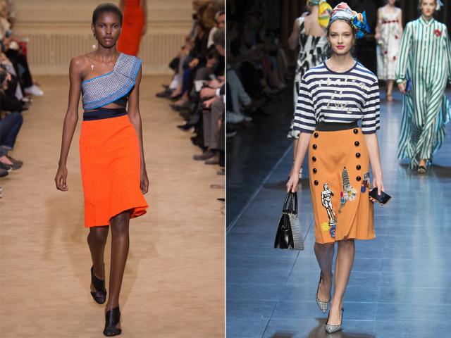 модные тенденции лета юбки
