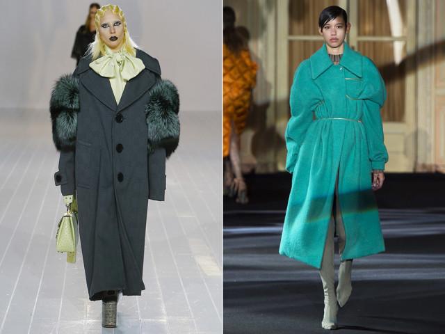 Пальто 2017 года модные тенденции.