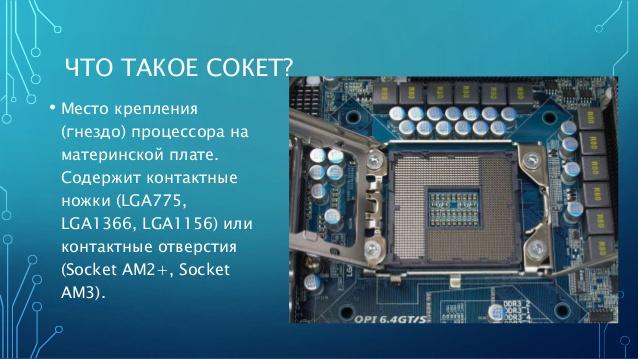 какие процессоры сокет