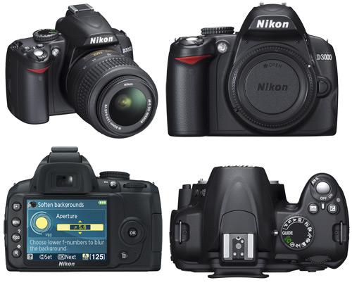 Как настроить фотоаппарат НИКОН Д3000
