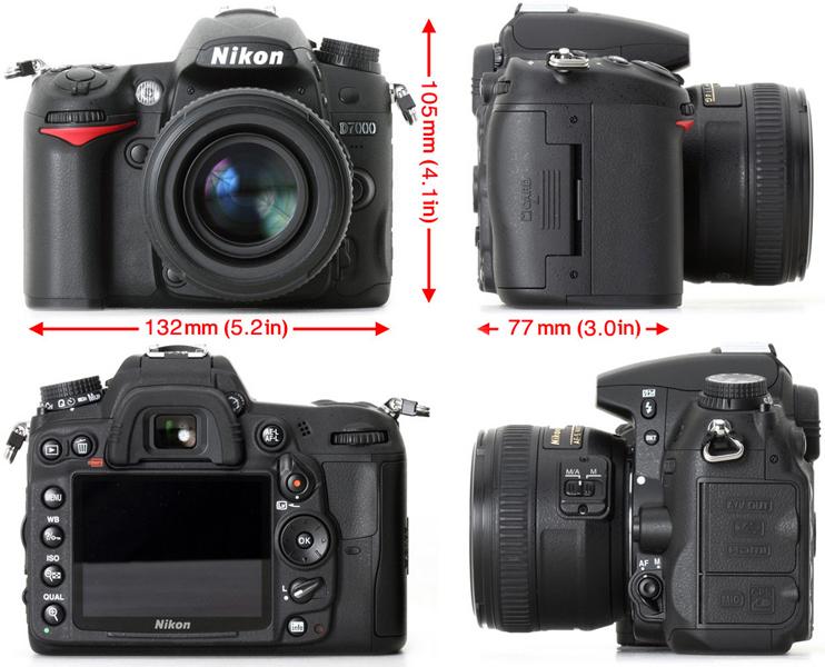 Настройка фотоаппарата НИКОН Д7000