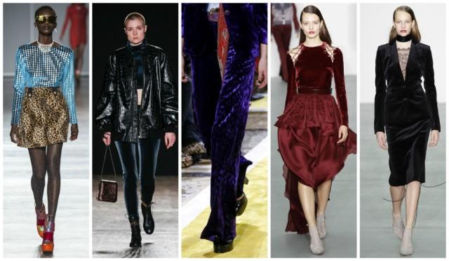 Модные тенденции в тканях осенью 2016