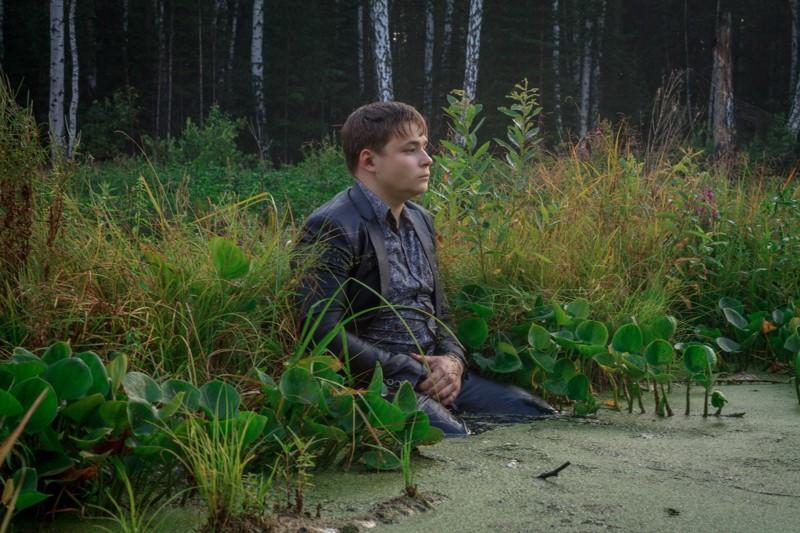 Челябинский школьник болото