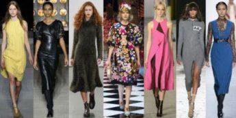 Платья 2016 2017 года модные тенденции фото