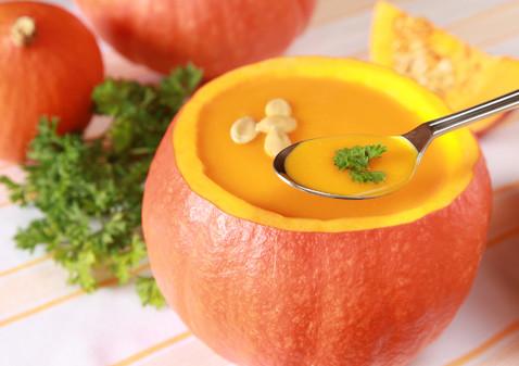 Тыквенный крем суп с имбирем