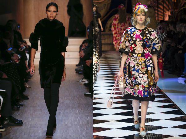 Мех, перо и бахрома тенденции модного платья в 2016 2017