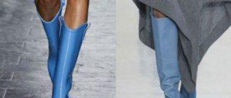 Какие сапоги в моде