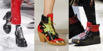 какая обувь в моде 2017