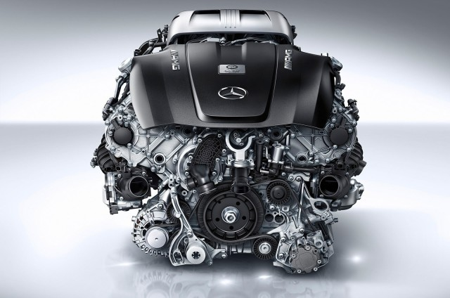 мерседесовский двигатель