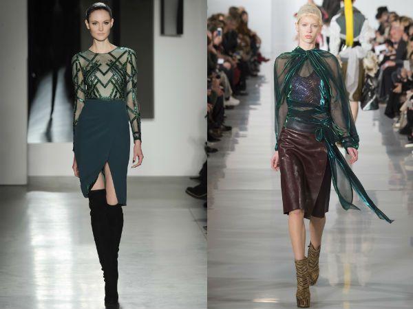 Модные юбки 2017 года
