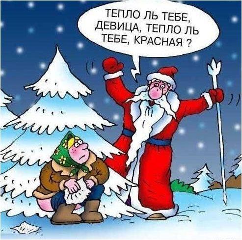 анекдоты про новый год смешные +до слез