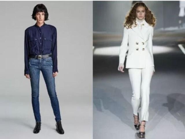 модная одежда джинса