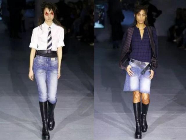 модные луки +с джинсами