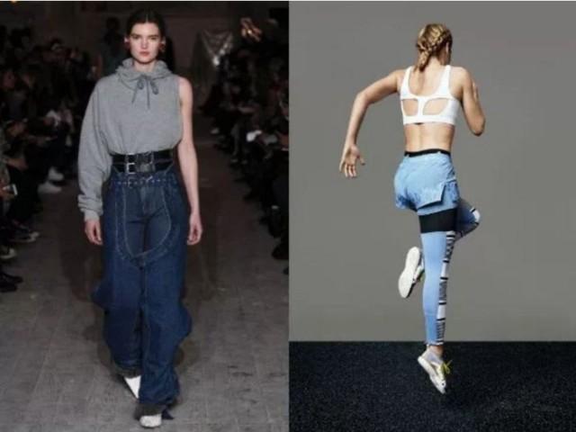 модный цвет джинс