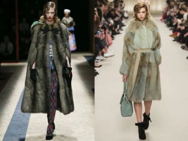 меховое женское пальто купить