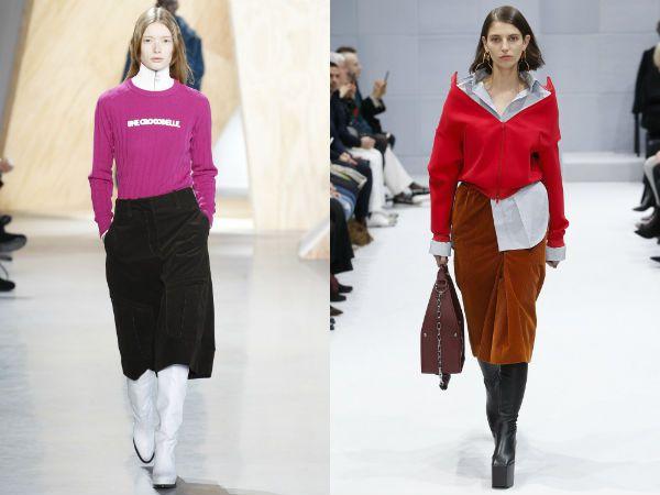 какие юбки сейчас +в моде