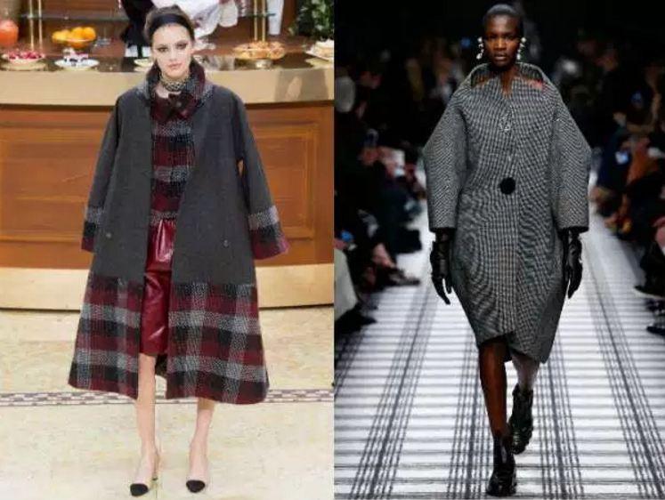 с чем носить пальто оверсайз
