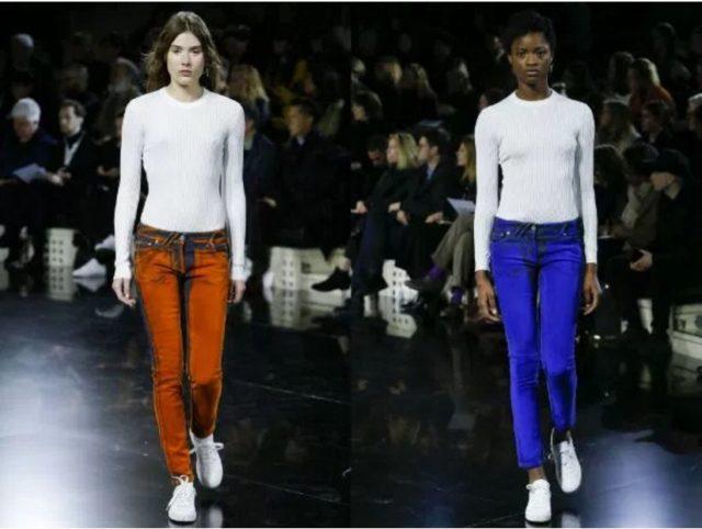 женские джинсы 2017 года модные тенденции фото