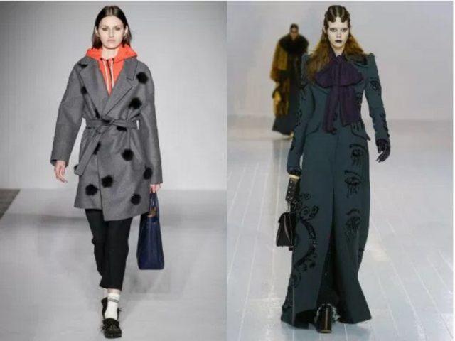модные пальто зима 2017 фото женские