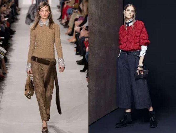 мода зима 2017 одежда фото женская