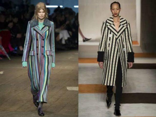 модные фасоны пальто 2017