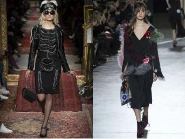 какие модные модели платьев