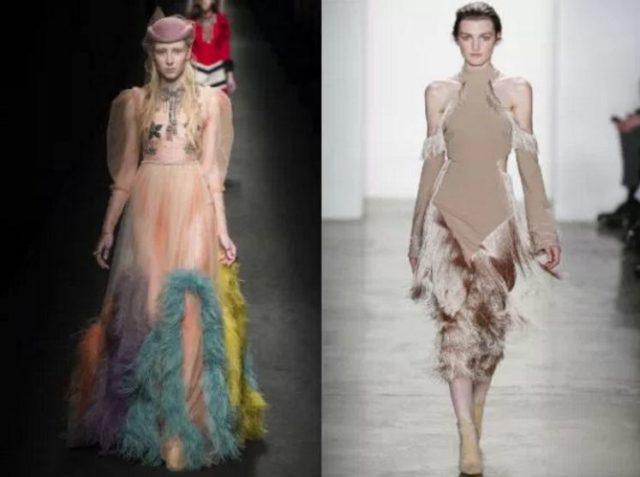 фасоны модных платьев фото