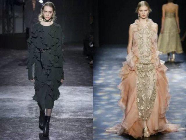 модные фасоны платьев 2017 фото