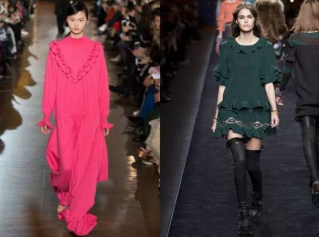 какой фасон платьев моден в 2017 году