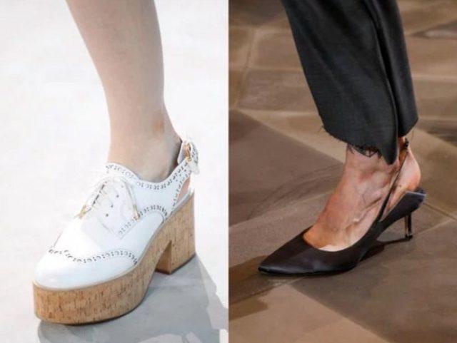 обувь лето 2017 женская фото