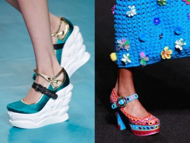обувь 2017 тенденции