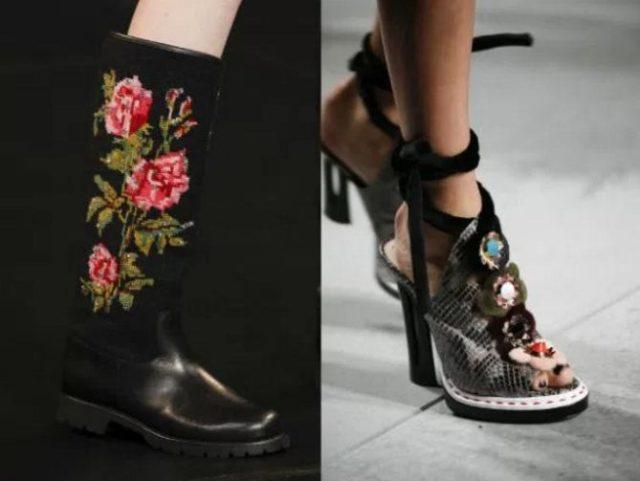 женская обувь весна лето 2017