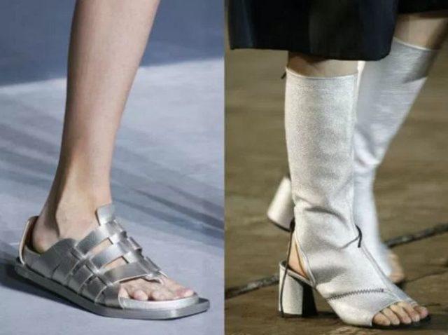 модная обувь весна лето 2017 женская