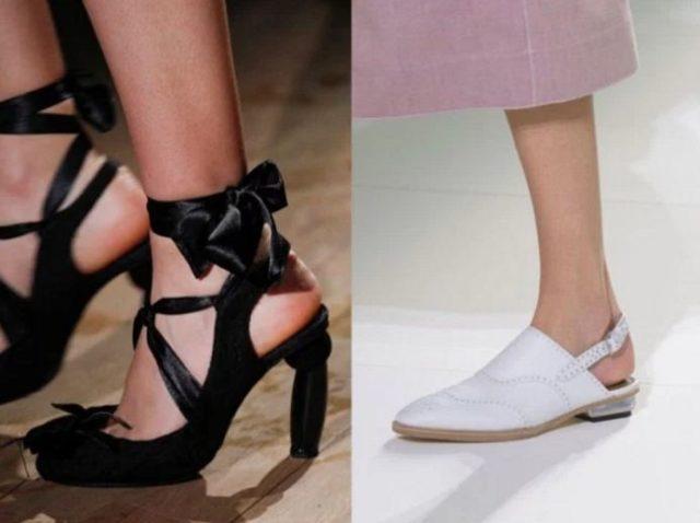 модная обувь лето 2017 фото женская