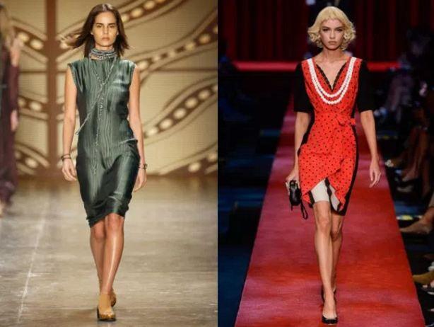 модные тенденции платья