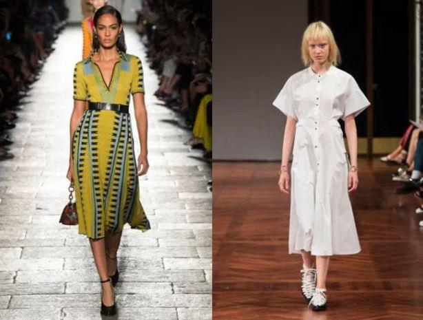 модные тенденции платья фото