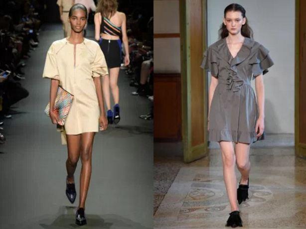 новинки модных платьев фото