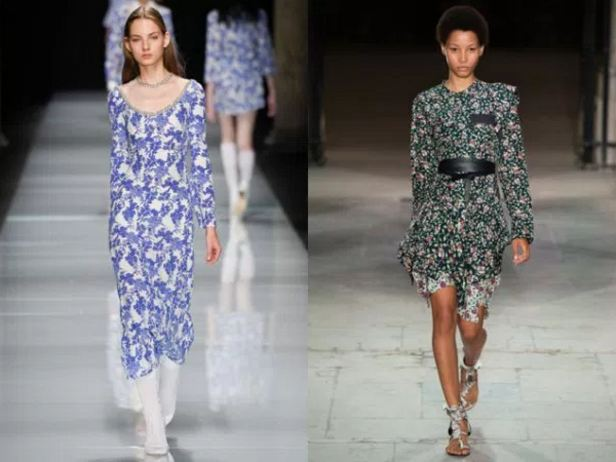 модели платьев 2017