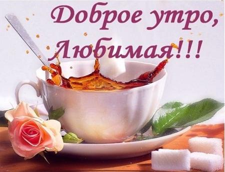 пожелание доброго утра и хорошего дня девушке своими словами
