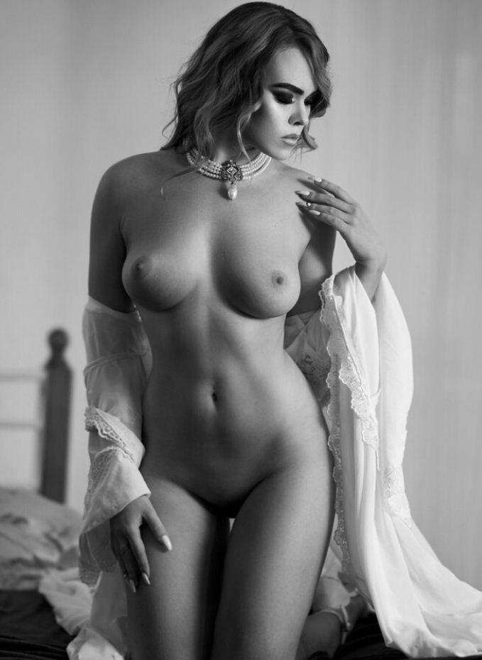 черно белые фото девушек (13)