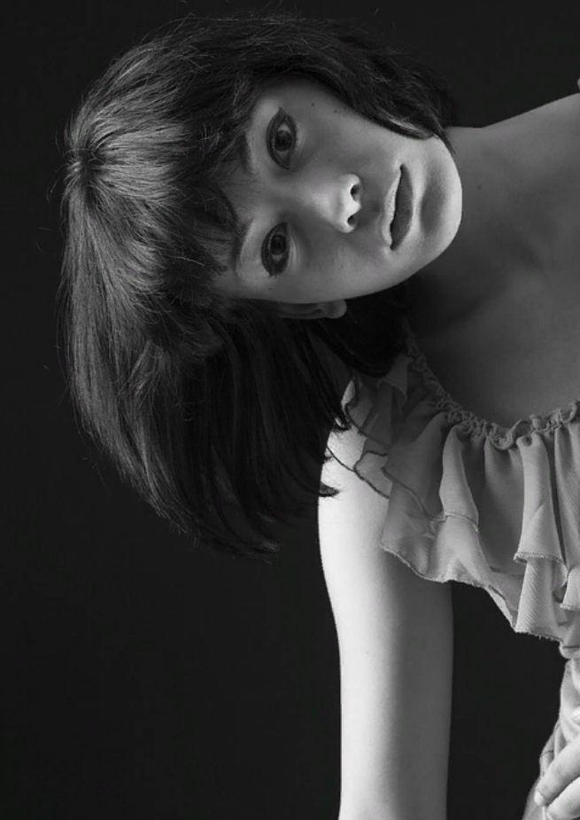 черно белые фото девушек (14)