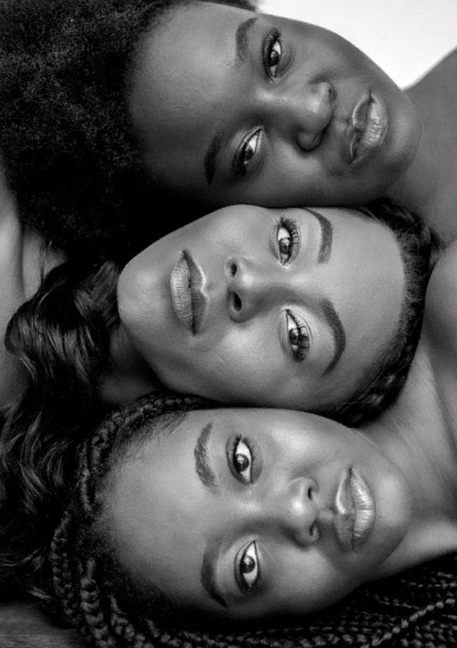 черно белые фото девушек (17)