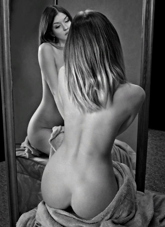 черно белые фото девушек (20)